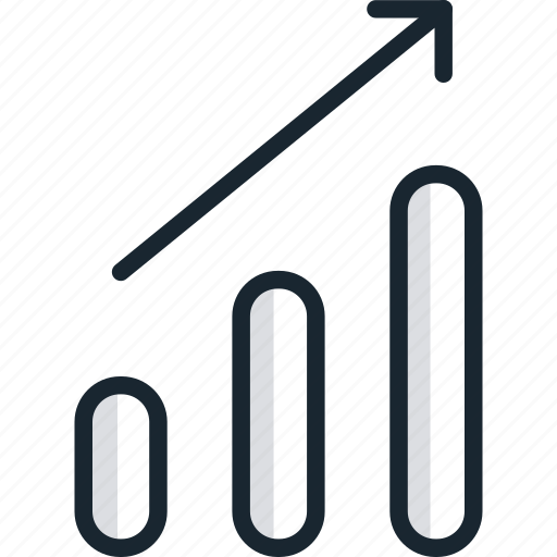 chart, diagram, graph, growth, report, statistics, up icon
