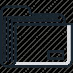 document, file, files, folder, folders, office icon
