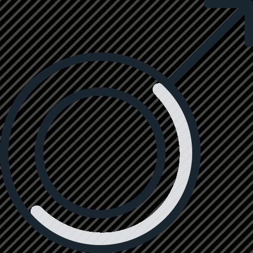 Gender, male, man, men, sign icon - Download on Iconfinder