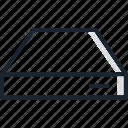 host, hosting, network, server, storage icon