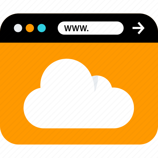 cloud, save, www icon