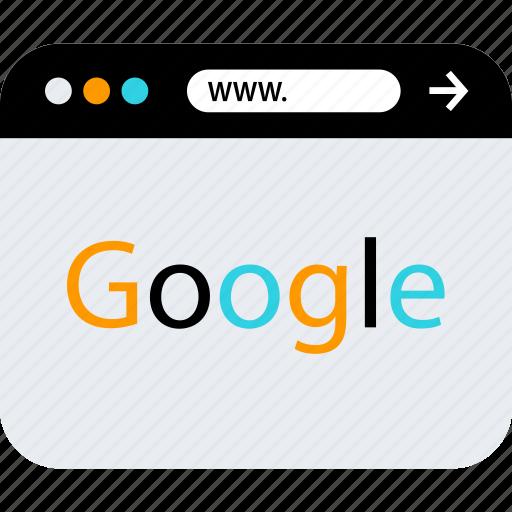 google, search, www icon