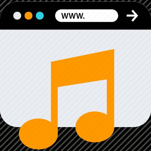 listen, music, seo, www icon