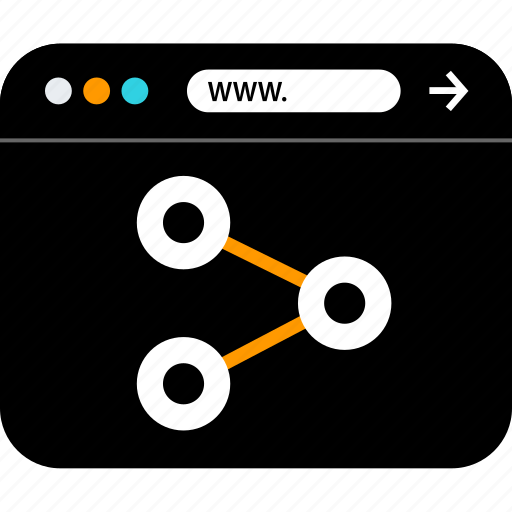 file, share, www icon