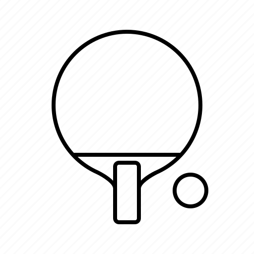 ball, game, ping, play, racket, sport icon