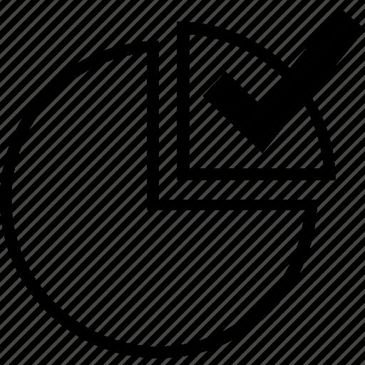 check, circle, mark icon