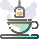 beverage, cup, drink, food, hot, tea icon