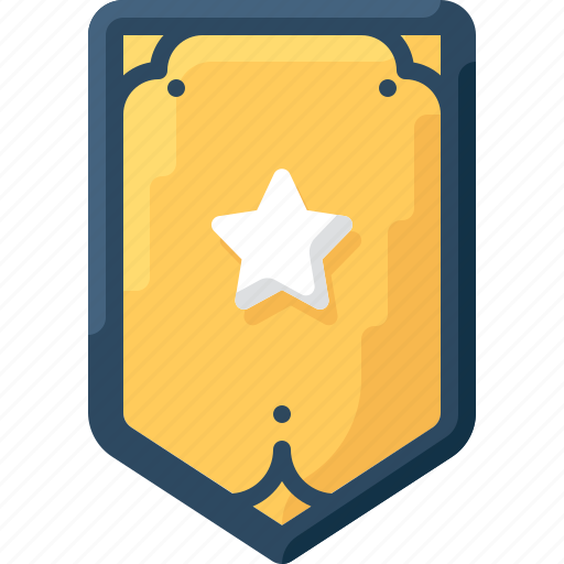 army, badge, insignia, military, one, rank, star icon