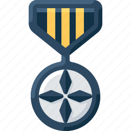 army, badge, insignia, medal, military, rank, soldier icon