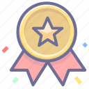 achievement, award, badge, premium, quality, vip, winner icon