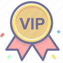 badge, premium, vip icon