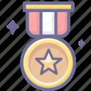achievement, award, bronze, medal, winner icon