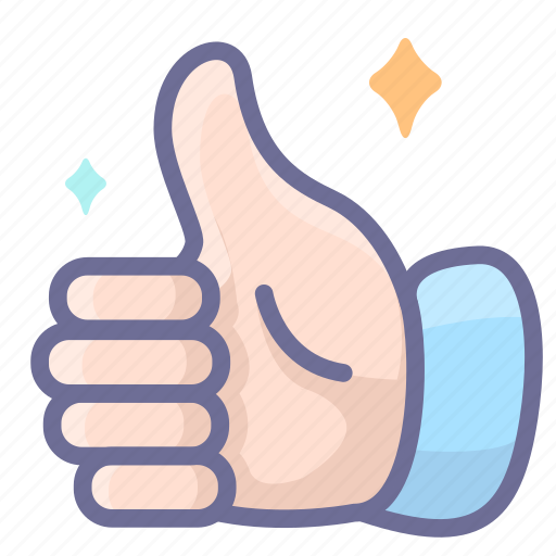 approved, good, hand, positive icon