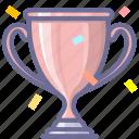achievement, copper, success, trophy, winner icon