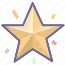 achievement, favorite, like, rating, star, winner icon