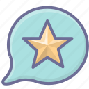 achievement, best, review icon