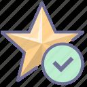 achievement, bookmark, favorite, star icon