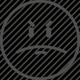 emoticon, emotion, face, rate, smile, smiling, survey icon