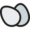 breakfast, cooking, egg, eggs, food, kitchen, restaurant icon