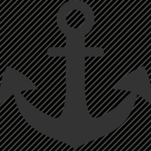 anchor, boat, marine, nautical, ocean, sea, ship icon