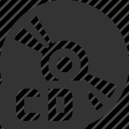 audio, cd, disk, media, music, record, video icon