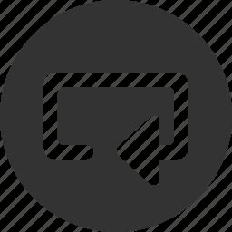 audio, control, media, music, player, repeat, video icon