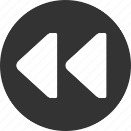 audio, media, music, player, rewind, sound, video icon