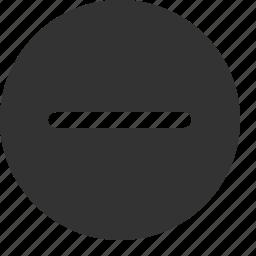 delete, erase, minus, remove icon