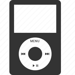audio, ipod, media, multimedia, music, play, player icon