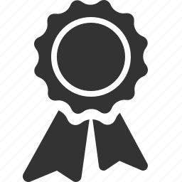 achievement, award, best, cockade, medal, prize, rosette icon