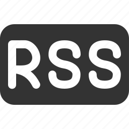 blog, feed, news, rss, subscribe icon