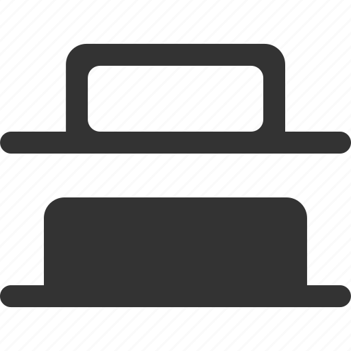 align, alignment, bottom, distribute, location, position, shape icon