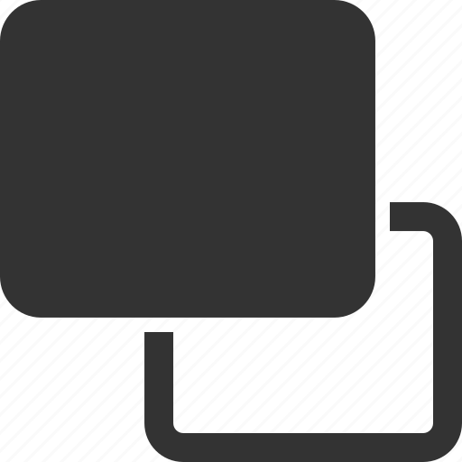 forwards, move, rectangle, shape icon
