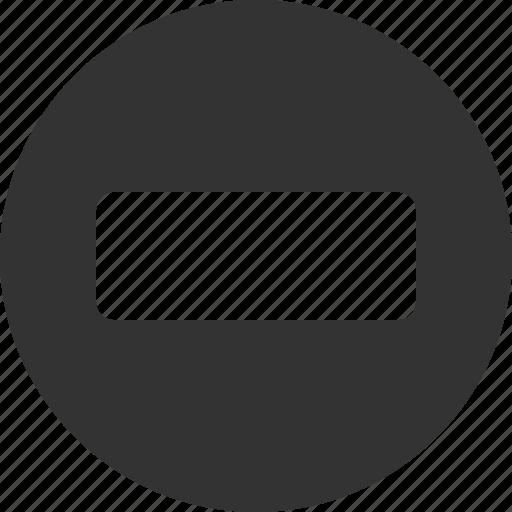 block, control, forbidden, no, stop icon