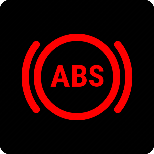 abs, warning icon