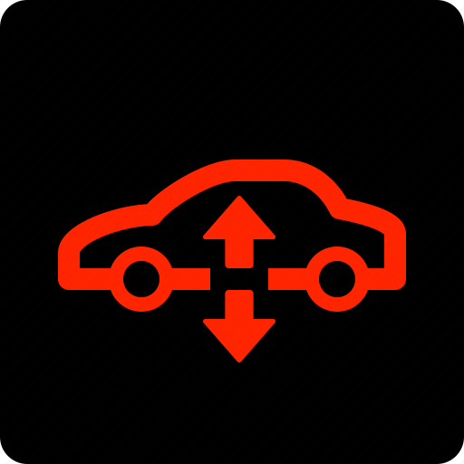 Air, car, suspension, warning icon - Download on Iconfinder