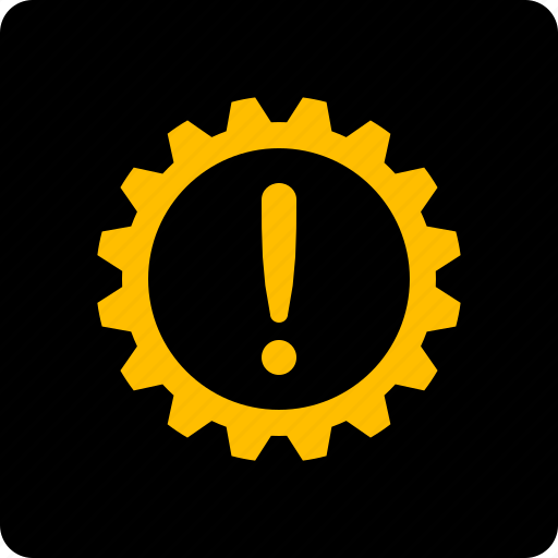 Automatic, gear, gearbox, warning icon - Download on Iconfinder