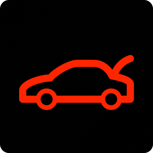 boot, car, open icon