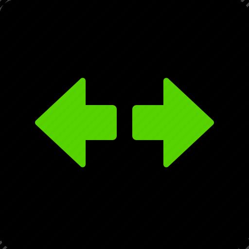 arrow, direction, indicators, left, right icon