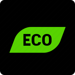 driving, eco, indicator icon