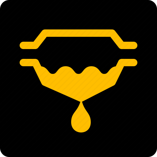 filter, fuel, warning icon