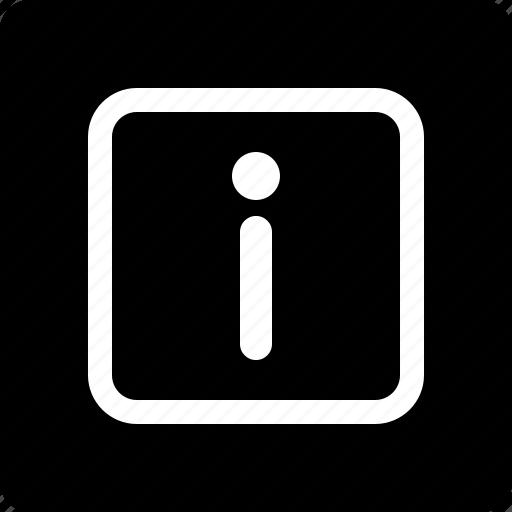 Information, indicator icon