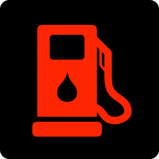 filling, fuel, low, station icon