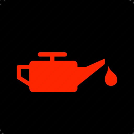 low, oil, pressure icon