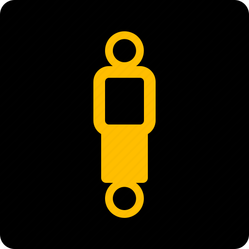 dampers, suspension icon