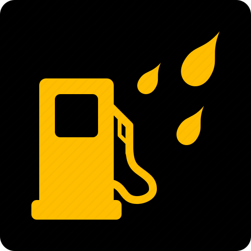 Filter, fuel, water, in icon