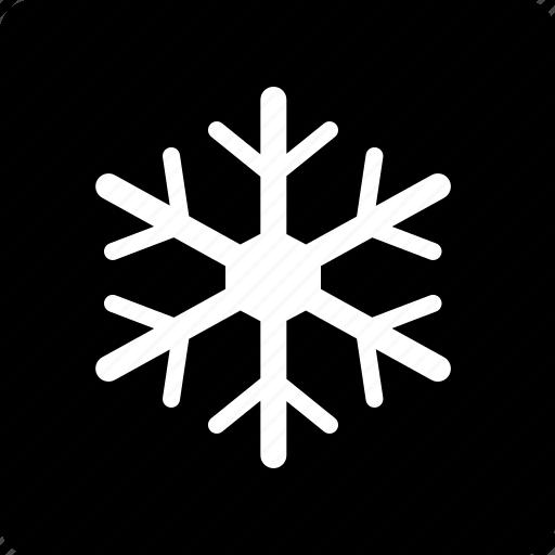 Snowflake, winter, mode icon