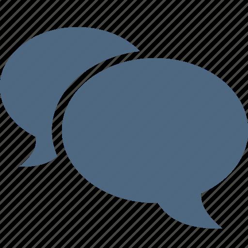 bubble, chat, comment, forum, mail, message, talk icon