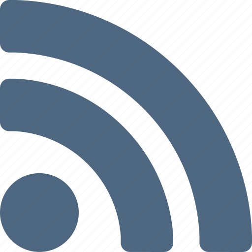 feed, internet, news, reader, rss, subscribe, wireless icon