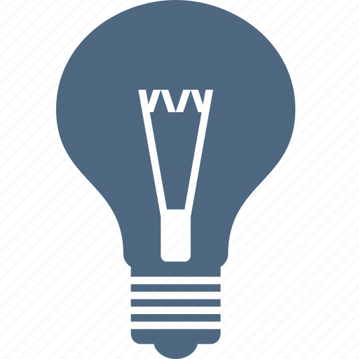 bulb, electric, energy, hint, idea, lamp, light icon